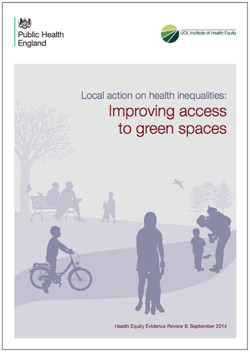 Local action on health inequalities: Improving access to green spaces