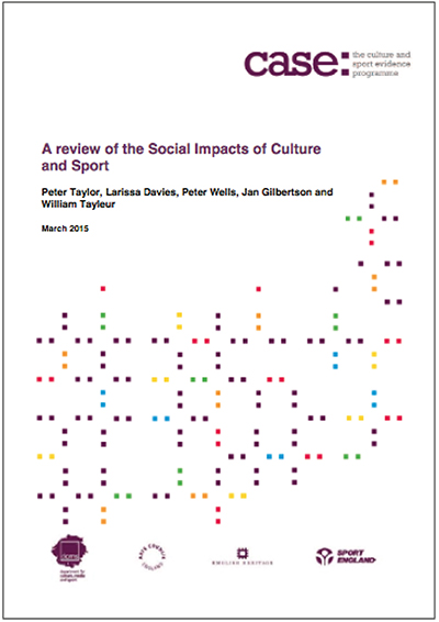 A Review Of The Social Impacts Of Culture And Sport